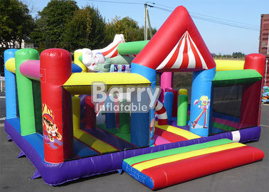A Shine Circus Commercial Small Jumping Castle Balita Inflatable Playland pemasok