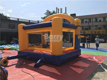 Komersial Inflatable Minions Bounce House Untuk Clearance, Inflatable Bouncer Trampoline pemasok