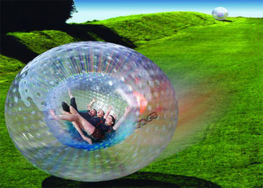 Amazing Outdoor Inflatable Toys, Giant Inflatable Manusia Zorb Bola EN71 pemasok