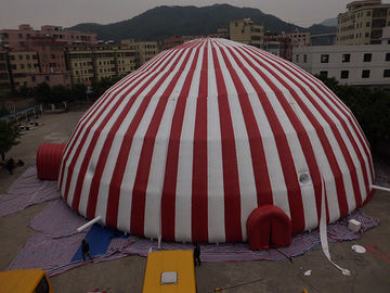 Komersial 500 Orang Inflatable Dome Tent / Large Inflatable Marquee Tent pemasok