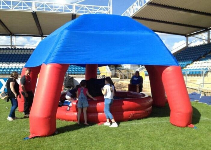 Blow Up Marquee Inflatable Spider Tent Digunakan Dalam Rodeo Bulls Sport Games