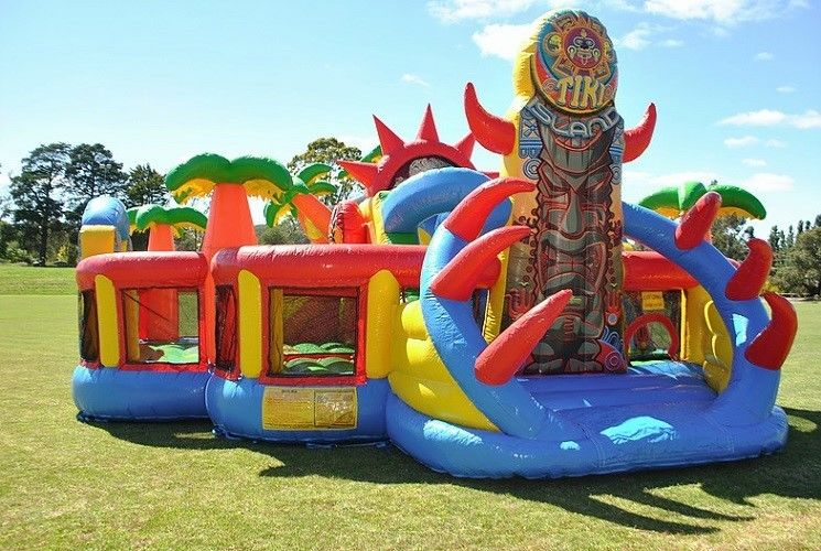 Cina Outdoor Inflatables Bouncy Castle, Inflatable Party Game Mainan Anak-anak Mini Inflatable Jumper pabrik