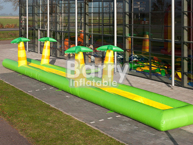 PVC Inflatable Belly Slide Jungle Inflatable Slip N Slide Untuk Acara Komersial