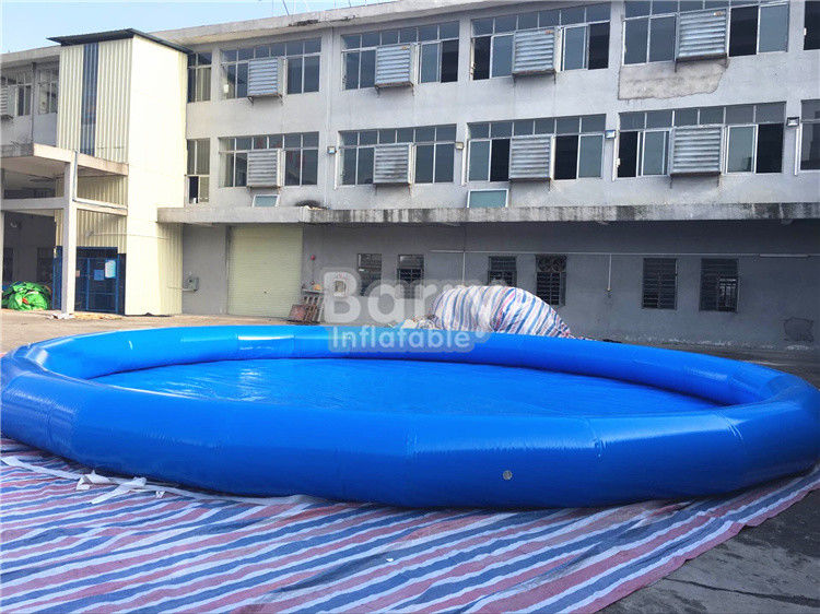 Cina Round Inflatable Blow Up Kolam Renang Untuk Electric Inflatable Bumper 1 Seat Boat pabrik