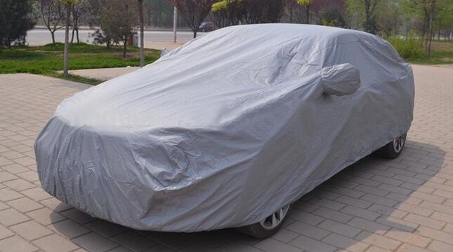 Cina 5-6mm Kentalkan Padded Inflatable Hail Proof Automobile Car Cover pabrik
