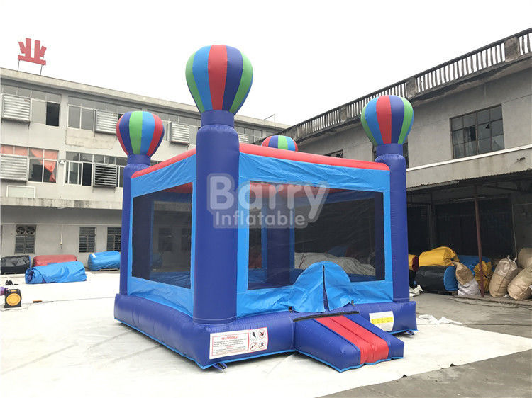 Cina Fireproof Safe Kindergarten Baby Balloon Inflatable Bounce House / Inflatable Jumping House pabrik