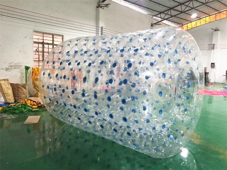 PVC Tarpaulin Inflatable Water Toys, Orb Air Roller Ball 2.4 * 2.2 * 1.8M
