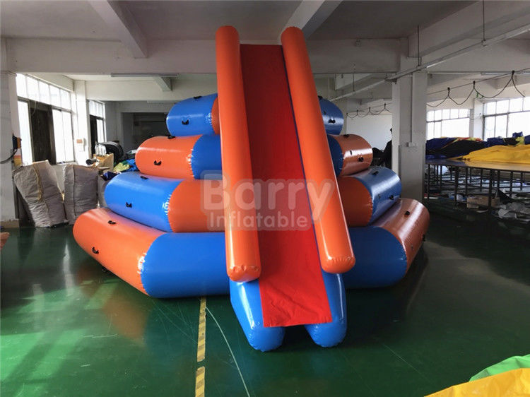 PVC Inflatable Air Terapung Geser Air Mainan, Game Taman Air Tiup