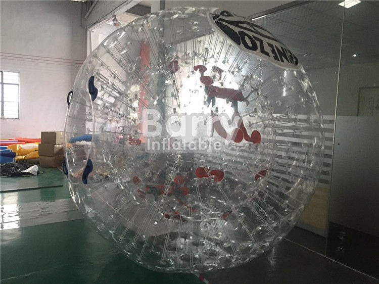 Cina Personal Outdoor Inflatable Toys Besar PVC Inflatable Tubuh Zorb Bola Soccer pabrik