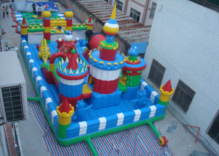 Cina Anak-anak Inflatable Outdoor Bouncy Castle Inflatable Inflatable Fun City Playground pabrik